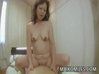 Japan Granny Rides dick